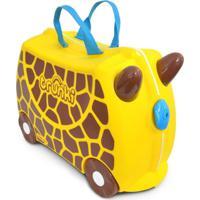 Mala Infantil Trunki - Girafa Gerry - Sua Viagem Muito Mais Divertida - Cor Amarela - Tricae