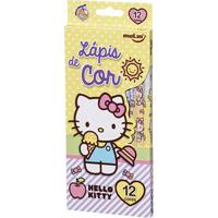 Lápis De Cor - 12 Cores - Hello Kitty - Sorvete - Molin