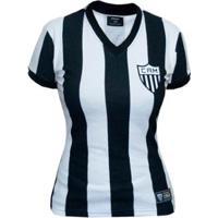 5d83506e8 Camisa Retrô Mania Atlético Mineiro 1950 Feminina - Feminino
