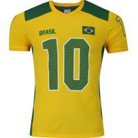 2f34e22e54 ... Camiseta Do Brasil Inga - Masculina - Amarelo Verde