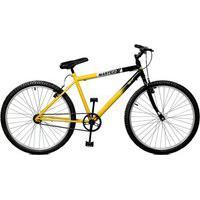 Bicicleta Master Bike Aro 26 Pop Amarelo/Preto