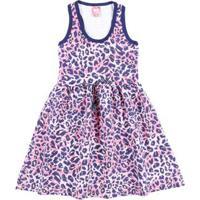 Vestido Juvenil Para Menina - Rosa