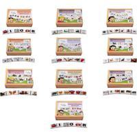 Conjunto De Dominós Alfabetização Caixa Com 10 Jogos - Fundamental
