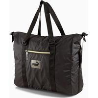 Bolsa Puma Core Seasonal Duffle Bag Feminina - Feminino-Preto