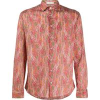 Etro Camisa Com Estampa Paisley - Vermelho