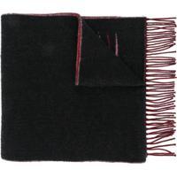 Balenciaga Echarpe Com Logo - Vermelho