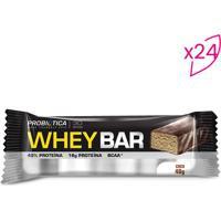 Whey Bar®- Coco- 24 Unidades- Probióticaprobiotica