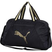 Mala Puma At Ess Grip Bag - Preto/Ouro