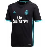 Camisa Infantil Adidas Real Madrid 2