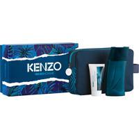 Kit Coffret Kenzo Homme Masculino Eau De Toilette