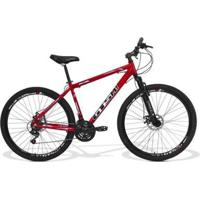 Bicicleta Gts Aro 29 Freio A Disco Câmbio Traseiro Shimano 24 Marchas E Amortecedor| Gts M1 Ride - Unissex