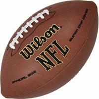 Bola De Futebol Americano Wilson Nfl Super Grip Ultra Composite - Oficial - Unissex