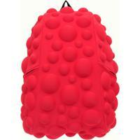 Mochila Bubble Grande Vermelha Neon Madpax