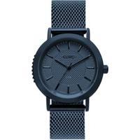 Relógio Euro Strong Woman Spikes Feminino - Feminino-Azul