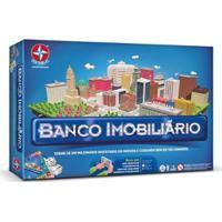Jogo Banco Imobiliário - 2018 - Estrela - Unissex