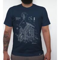Trojan Rabbit White - Camiseta Clássica Masculina