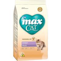 Ração Para Gatos Max Cat Professional Line Filhotes Sabor Frango 1Kg