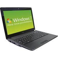 "Notebook Cce Wind45P - Preto - Intel Core I3-M330 - Ram 4Gb - Hd 500Gb - Tela 14"" - Windows 7 Home"