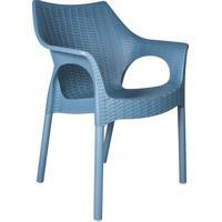 Cadeira Relic Polipropileno Azul I'M In