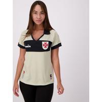 Camisa Diadora Vasco Goleiro Iii 2019 Feminina