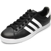Tênis Couro Adidas Originals Coast Star Preto