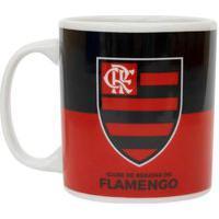 Caneca De Porcelana Flamengo 320Ml Oficial