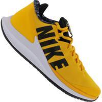 Tênis Nike Court Air Zoom Zero Hc - Masculino - Amarelo Esc/Preto