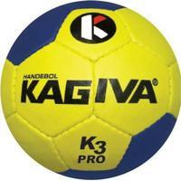 Netshoes  Bola De Handebol K3 Kagiva Pró Costurada - Masculino 4fa35e00993ec