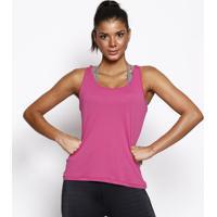 Regata Nadador Lisa- Rosa Escuro- Physical Fitnessphysical Fitness