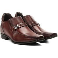 Sapato Social Rafarillo Alth Masculino - Masculino-Marrom Escuro