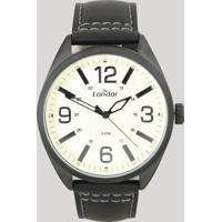 Relógio Analógico Condor Masculino - Co2035Mpe2D Preto - Único