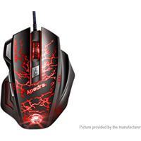 Mouse Gamer Usb Shinka A7 3200Dpi Multicolor
