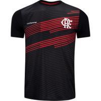 Camiseta Do Flamengo New Rust 20 - Masculina - Preto/Vermelho