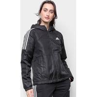 Jaqueta Adidas Essentials Insulated Hooded Feminina - Feminino-Preto