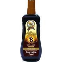 Acelerador Solar Australian Gold Gel Spray Instant Bronzer Fps 8