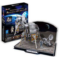 Quebra-Cabeça 3D Módulo Lunar Apollo - Brinquedos Chocolate