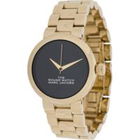 Marc Jacobs Watches Relógio The Round - Dourado