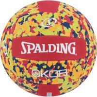 Bola De Vôlei Spalding Eva Foam Series Volley 72353Z - Vermelho/Laranja