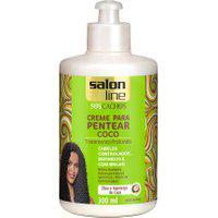 Creme De Pentear Salon Line S.O.S Cachos Coco Com 300Ml