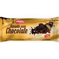 Biscoito Com Chocolate Aminna 100G