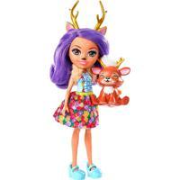 Boneca Enchantimals Danessa Deer E Bichinho Sprint - Mattel - Kanui