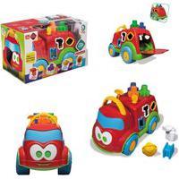 Carrinho Educativo Baby Land Dino Bombeirinho Brinquedo De Atividades Cardoso Toys