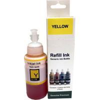 Tinta Para Impressora Epson Yellow Bulk Ink L380 Premium