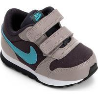 Tênis Infantil Nike Mid Runner 2 - Masculino-Marrom+Azul