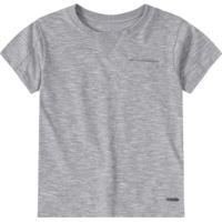 408a755f1 ... Camiseta Básica Bebê Tigor T. Tigre Masculina - Masculino-Cinza