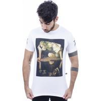 Camiseta Hardivision Reflex Manga Curta - Masculino-Branco