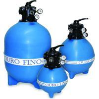 Filtro Para Piscina Fbp-16 Para Bomba 1/2 Cv Ouro Fino Azul