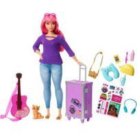 Boneca Barbie - Daisy Viajante Com Adesivos - Mattel
