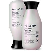 Combo Nativa Spa Jasmim Sambac: Shampoo 300Ml + Condicionador 300Ml