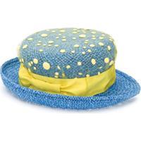 Mi Mi Sol Chapéu Com Sobreposição De Tela - Azul